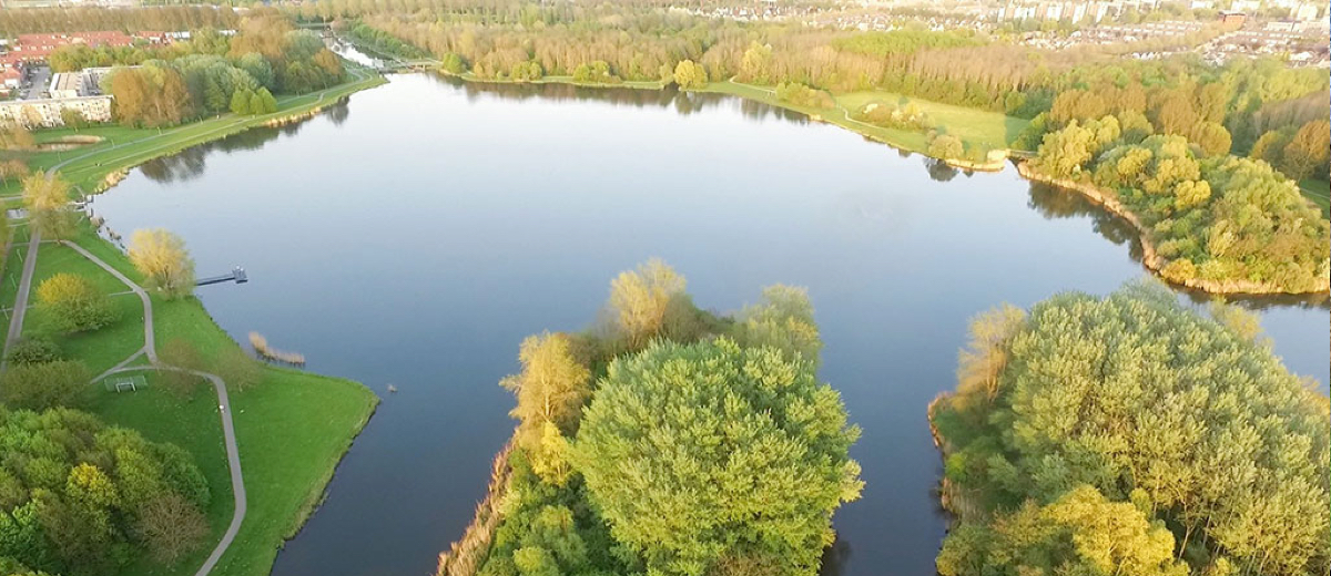 SUP Route Leeghwaterplas, Almere - Happy Supper