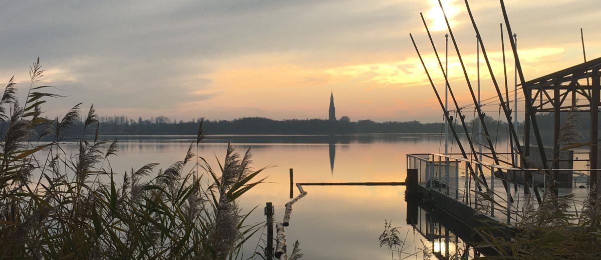 SUP Route Amsterdamse Bos De Poel (3 km) - Happy Supper