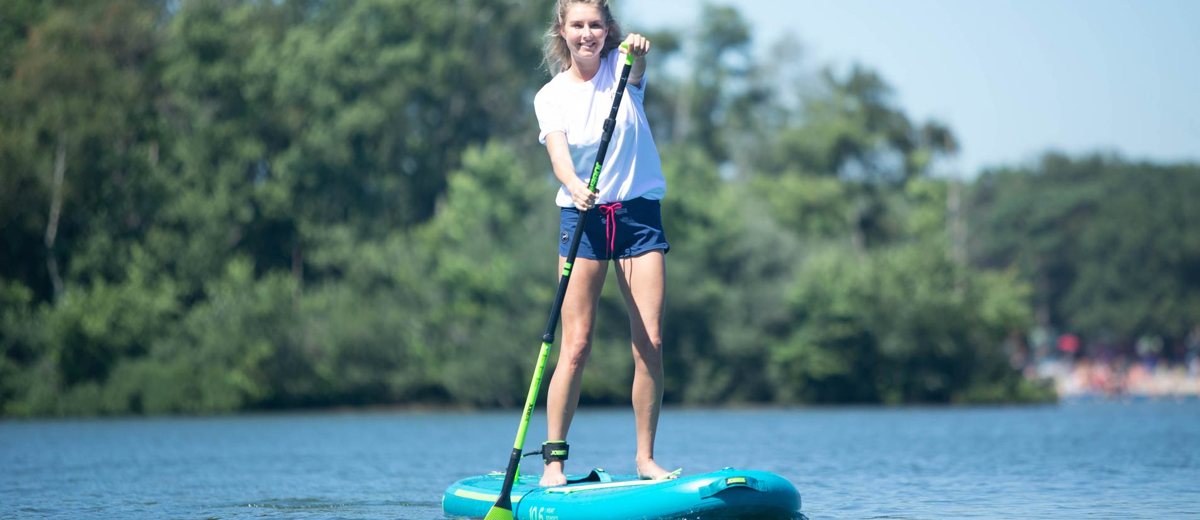 SUP Route Amsterdamse Bos Noord (6 km) - Happy Supper