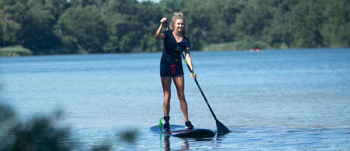SUP Route Amsterdamse Bos Zuid (6.6 km) - Happy Supper