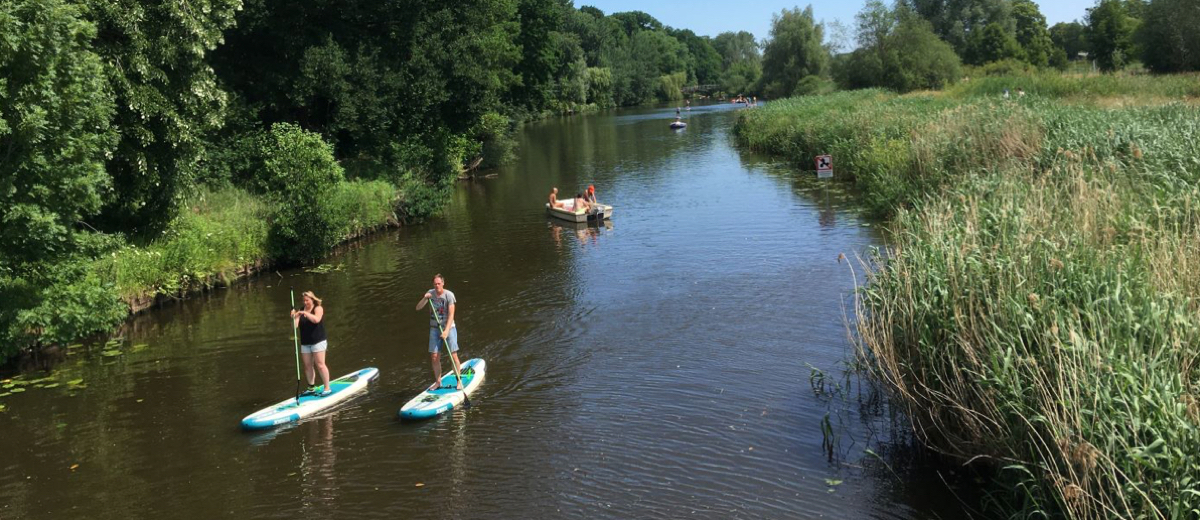SUP Route Markdal, Breda (9.4 km) - Happy Supper