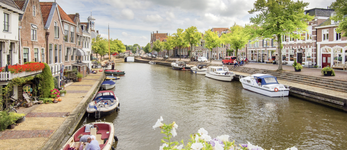 SUP Route Dokkum, Friesland (2,3 km) - Happy Supper