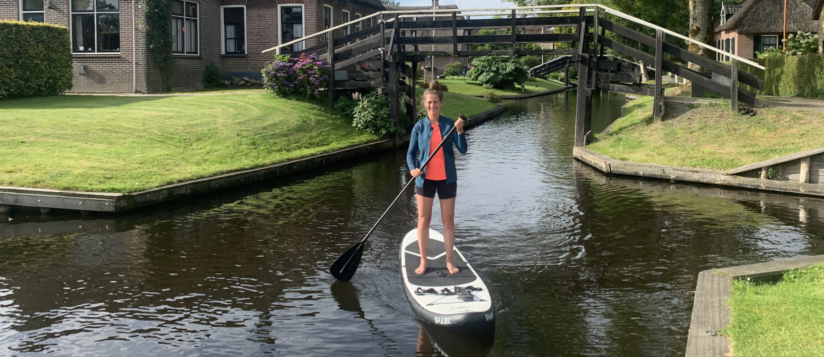 SUP Route Giethoorn (9 km) - Happy Supper