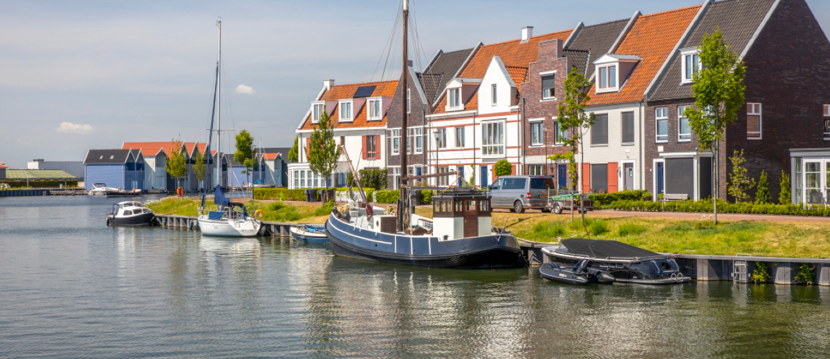 SUP Route Harderwijk (3.7 km) - Happy Supper