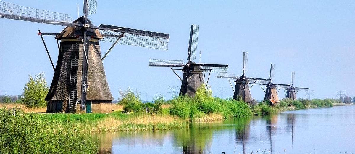 SUP Route Molens van Kinderdijk, Zuid-Holland (20 km) - Happy Supper