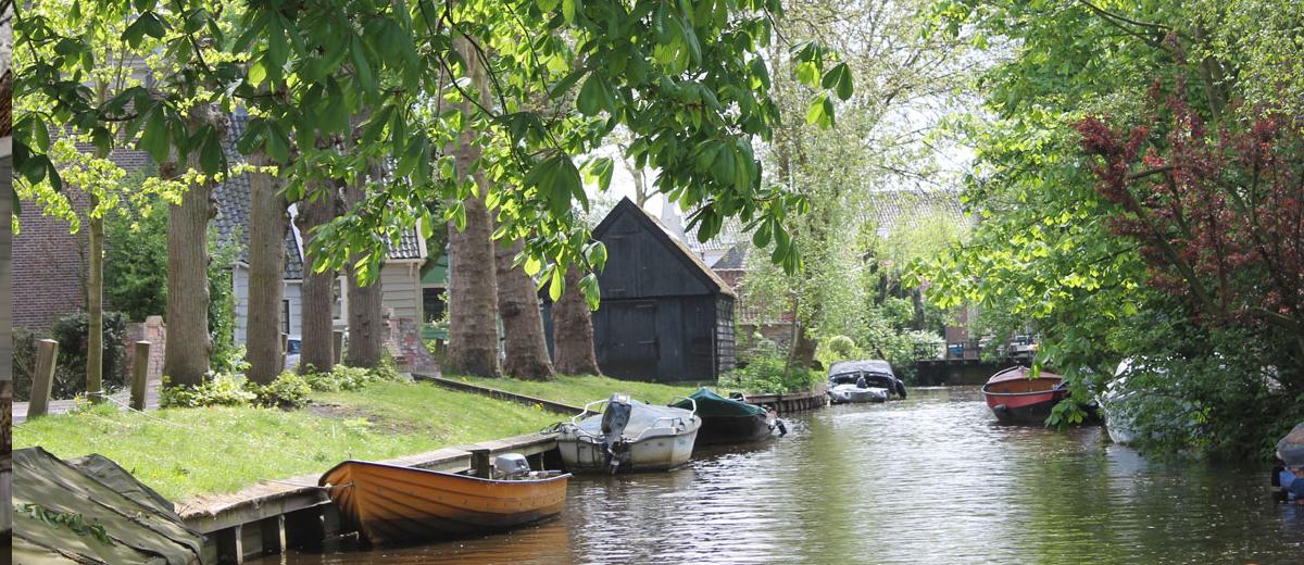 SUP route Monnickendam en Broek in Waterland (22km) - Happy Supper