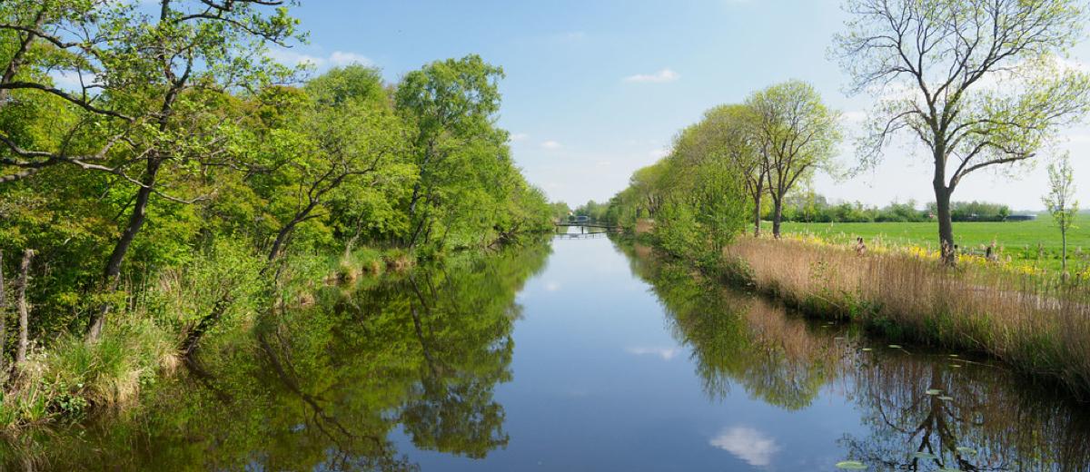 SUP Route Nieuwkoopse Plassen (8.6 km) - Happy Supper