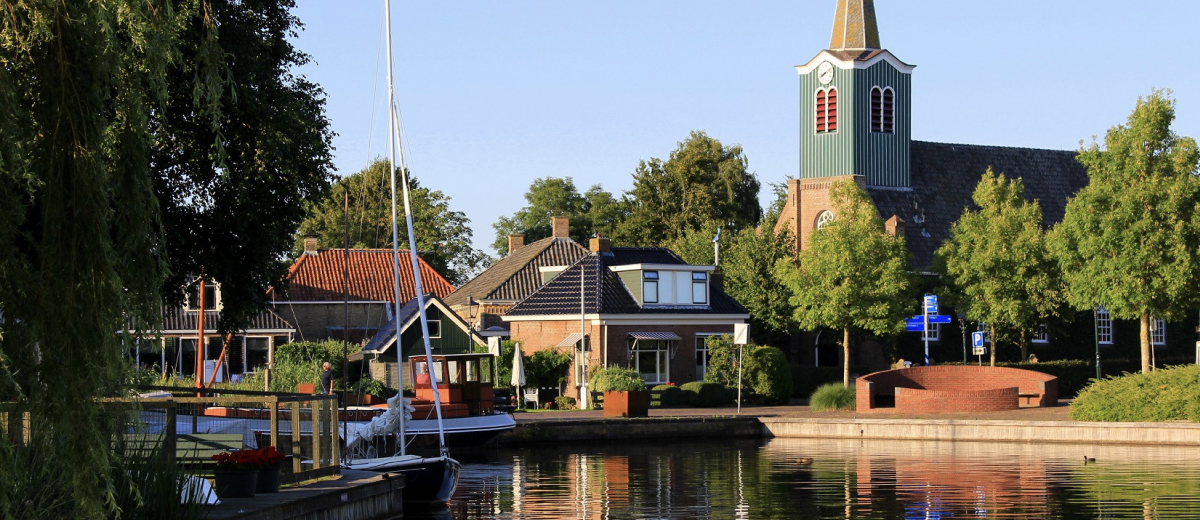 SUP Route Oudega, Friesland (10.5 km) - Happy Supper