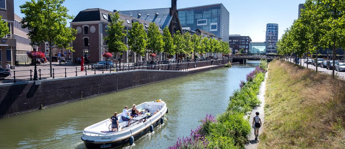 SUP Route Utrecht Singel (5.5 km) - Happy Supper
