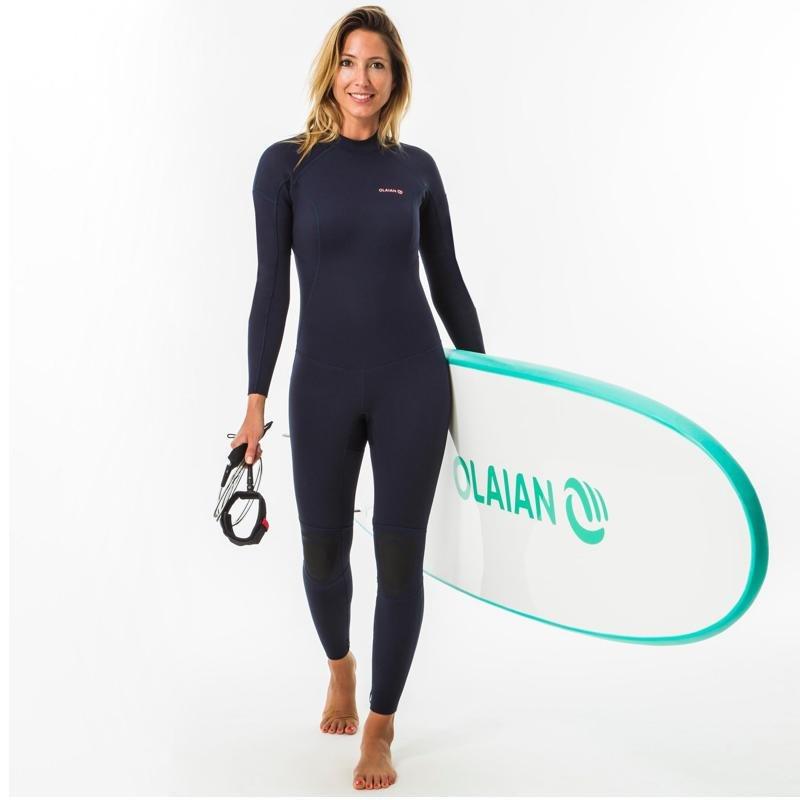sup kleding wetsuit decathlon dames
