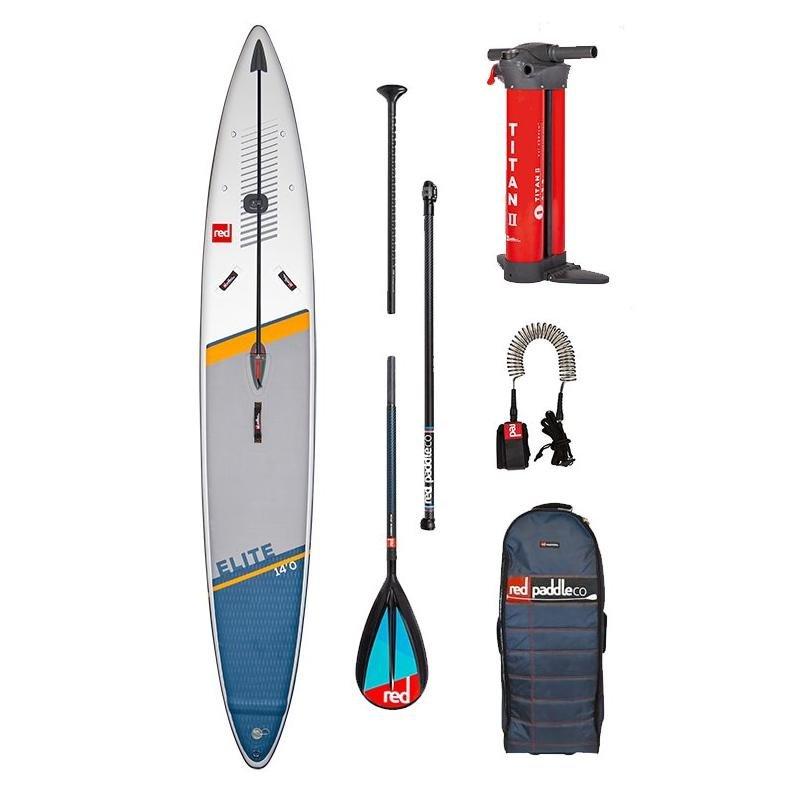 Red Paddle Elite Race SUP board - soorten SUP boards