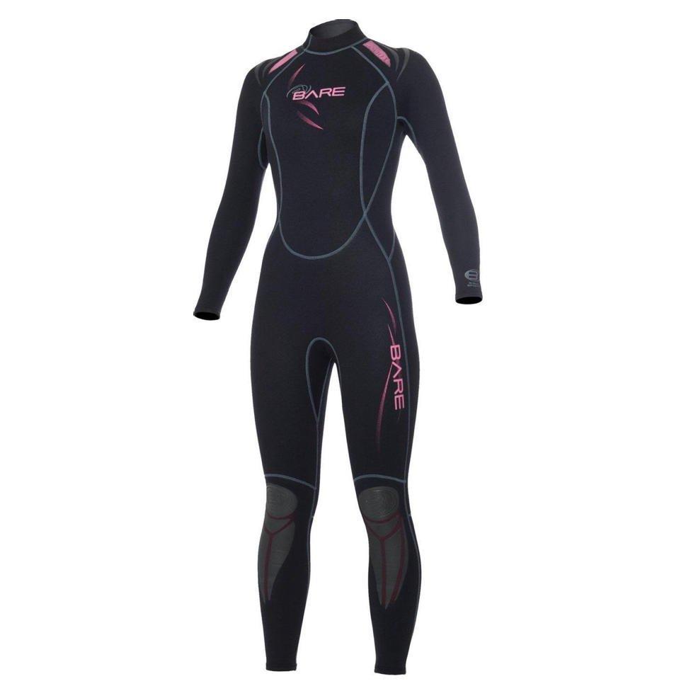 bol-wetsuit-dames-zwart-roze2